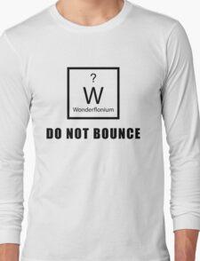 Wonderflonium: Do Not Bounce! - Doctor Horrible Inspired Shirt! Long Sleeve T-Shirt