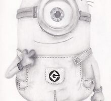 Minion Dave by BonesToAshes