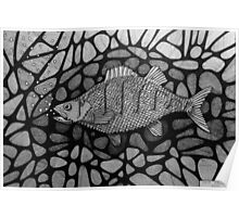 251 - PERCH - DAVE EDWARDS - INK - 2014 Poster
