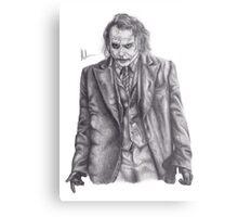 The Dark Knight Rises - Heath Ledger as The Joker Metal Print
