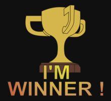 I'M WINNER ! Kids Tee
