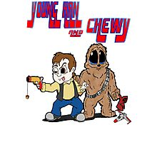 Young Han and Chewy Photographic Print