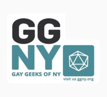 GGNY Icons - Roley-playing Sticker by Gay Geeks of  NY