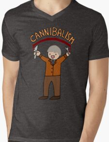 Cannibalism! Mens V-Neck T-Shirt