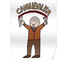 Cannibalism! Poster