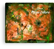 Muse Culture, from the Metaphysical Maps series Canvas Print