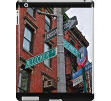 Bleecker & Bowery iPad Case/Skin