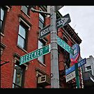 Bleecker & Bowery by cammisacam