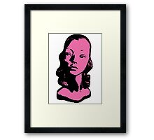 Mannequin Head Original Pop Art Shirt! You WILL Look Awesome. Framed Print