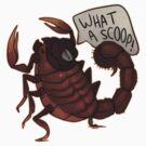 Scorpion of the Press by cargorabbit