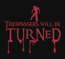 Trespassers will be turned by jazzydevil