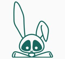 Skull-eyed Bunny by Yincinerate