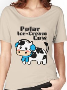 Polar Ice-Cream Cow Women's Relaxed Fit T-Shirt