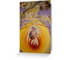 Die Geburt des Lichts Greeting Card
