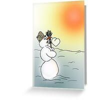 Wintersonnenwende Greeting Card