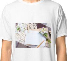 Tab Paper Classic T-Shirt