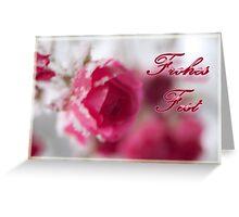Rosa Eis Greeting Card
