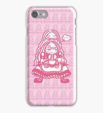 Grumpy Girl n Grumpy Doll iPhone Case/Skin