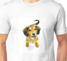 Pip the Mini Dachshund Pup Unisex T-Shirt