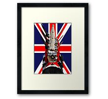"The Queen's Guards ""Sherlocked!"" Framed Print"