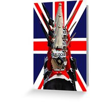 """The Queen's Guards """"Sherlocked!"""" Greeting Card"""