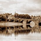 OLDE DEE BRIDGE, CHESTER. UK by AnnDixon