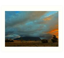 Mount Roland Sheffield Tasmania Art Print