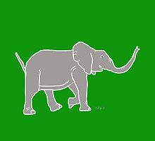 Elephant Grey 12C by mandalafractal
