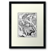 squid Framed Print