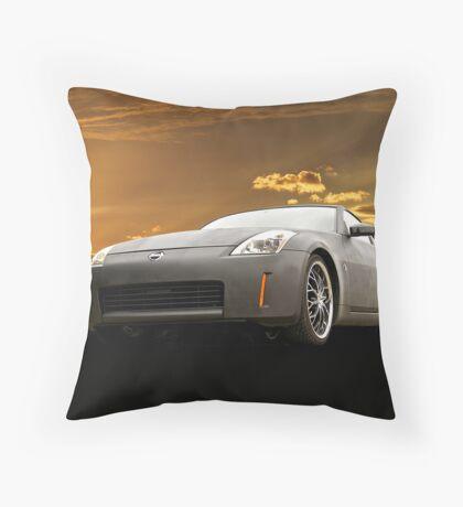 2008 Nissan Z350 II Throw Pillow