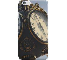Vintage Park Clock iPhone Case/Skin