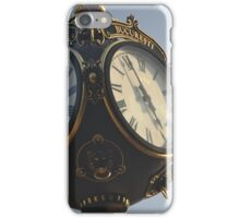 Vintage Park Clock iPhone Case/Skin