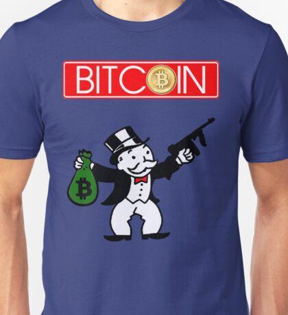 Get Bitcoin Make A Monopoly Unisex T-Shirt