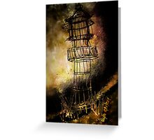 Lonely Lighthouse  Greeting Card