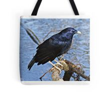 Satin Bowerbird  ~ Wet Satin Tote Bag