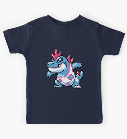 Pokemon - Croconaw Sprite Kids Tee