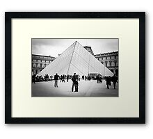Love In Paris Framed Print