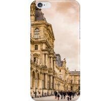 Palais Du Louvre Sunset iPhone Case/Skin