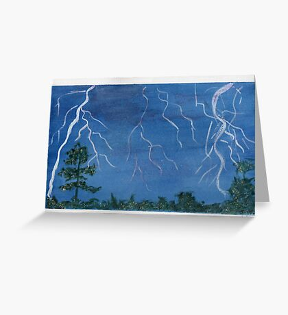 Thunder - Battle of the Elements Greeting Card