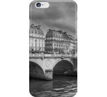 Paris Black and White iPhone Case/Skin