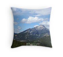 Valley Near Banff, Canada Throw Pillow