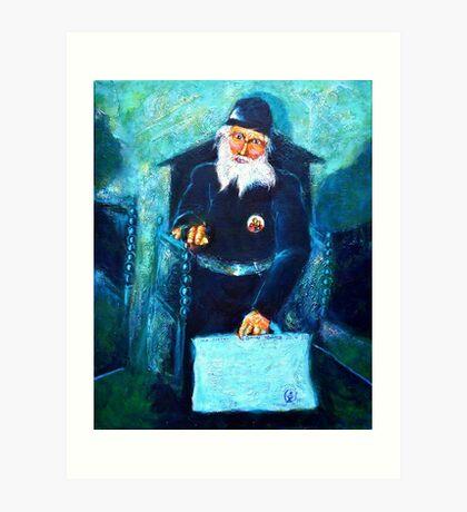 Orthodox Monk Art Print