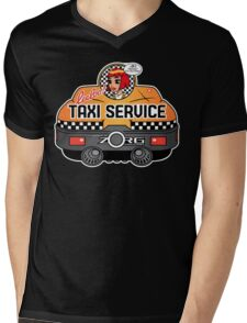 Express Taxi Service! Mens V-Neck T-Shirt