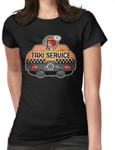 Express Taxi Service! Womens Fitted T-Shirt