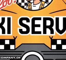 Express Taxi Service! Sticker