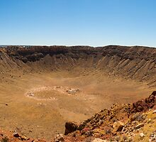 Barringer Meteor Crater by Ron LaFond