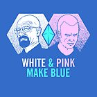 White & Pink Make Blue by Tom Burns