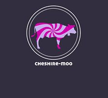 CHESHIRE MOO t shirt alternative psychedellic cow purple pink Womens Fitted T-Shirt