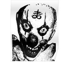 Satanic Clown Poster