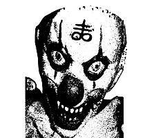 Satanic Clown Photographic Print